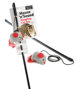 Mouse 'N' Sound Cat Dangler