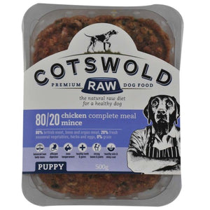 Cotswold RAW Puppy Chicken Mince 80/20