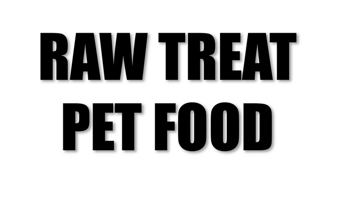 Raw Treat Pet Food Duck & Beef Mince