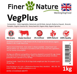 Finer by Nature Veg Plus