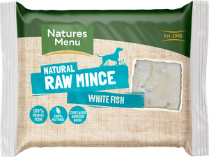 Natures Menu Whitefish Mince