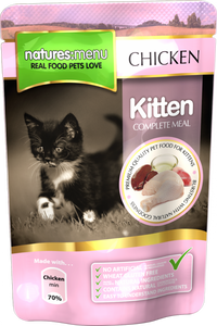 Natures Menu Kitten Pouches