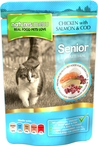 Natures Menu Senior Cat Pouches