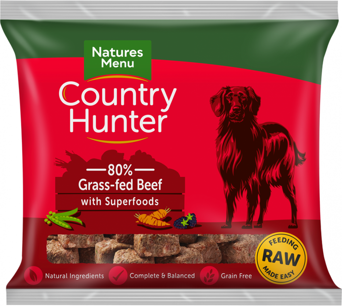 Natures Menu Country Hunter Beef Nuggets