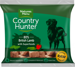 Natures Menu Country Hunter Lamb Nuggets