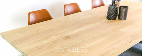 Tafel eiken Trapezio Dutch Design Tables