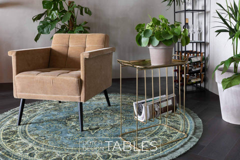Vloerkleed Dutchbone Bodega Dutch Design Tables