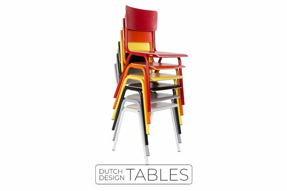 Stoel Zuiver Back to school (per set van 4) Dutch Design Tables