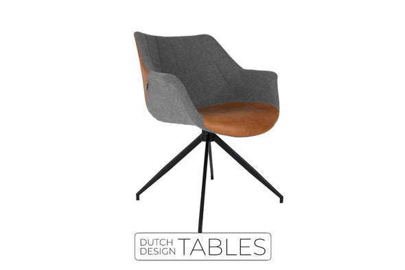 Stoel Zuiver Doulton armchair (per 2) Dutch Design Tables