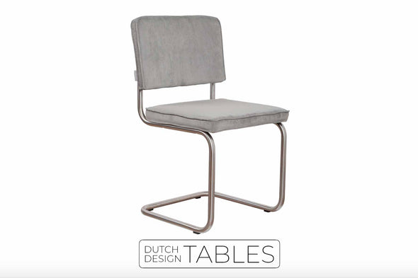 Stoel Zuiver Ridge Rib (per 2) Dutch Design Tables
