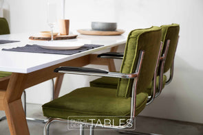 Stoel Zuiver Ridge Rib armchair (per 2) Dutch Design Tables