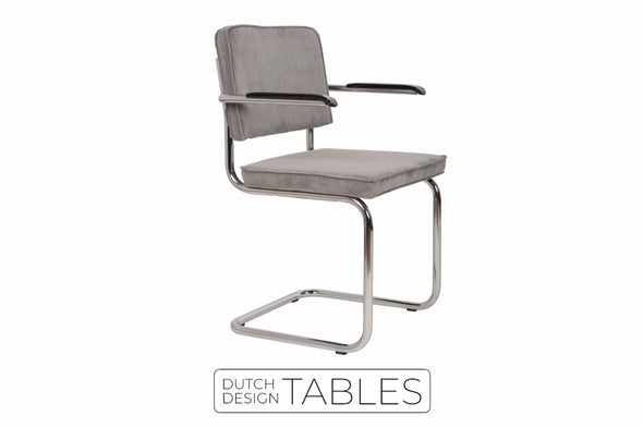 Stoel Zuiver Ridge Rib armchair Dutch Design Tables