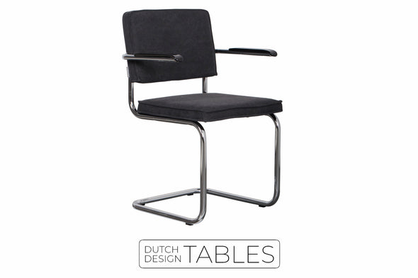 Stoel Zuiver Ridge vintage armchair (per 2) Dutch Design Tables