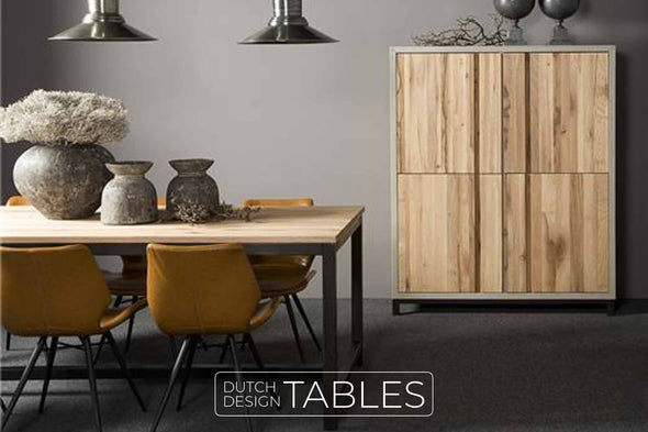 Tafel eiken Tower Living Max Dutch Design Tables