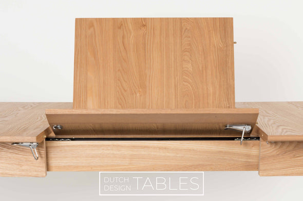 Tafel Zuiver Glimps uitschuifbaar Dutch Design Tables