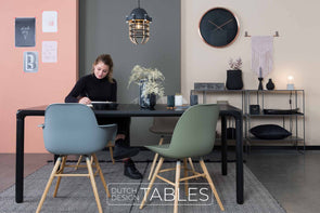 Tafel essen Zuiver Storm Dutch Design Tables