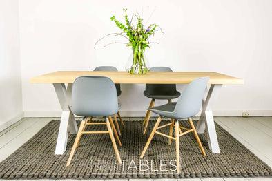 Tafel eiken Barcelona Dutch Design Tables
