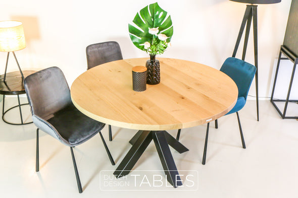 Tafel eiken DREAUM Giro Dutch Design Tables