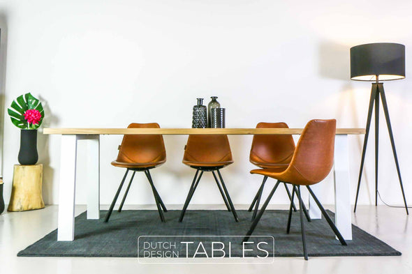 Tafel eiken DREAUM Trapezio Dutch Design Tables