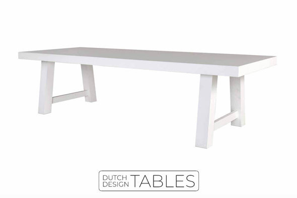 Tafel eiken Keijser & Co Big Top recht model Dutch Design Tables