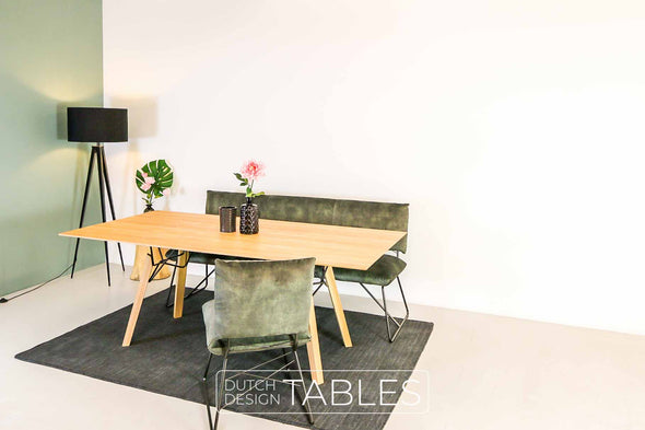 Tafel eiken Mobitec Gravity Dutch Design Tables