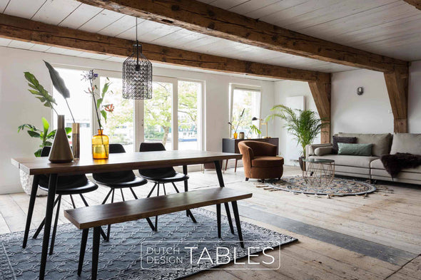Tafel noten Dutchbone Alagon Dutch Design Tables