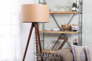 Vloerlamp Dutchbone Arabica Dutch Design Tables