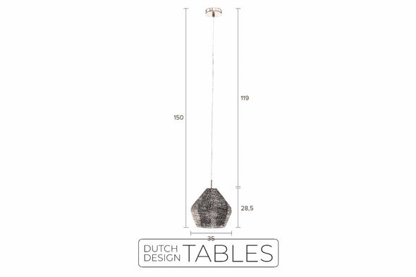Hanglamp Dutchbone Cooper Dutch Design Tables