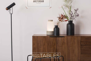 Vloerlamp Zuiver Marlon Dutch Design Tables