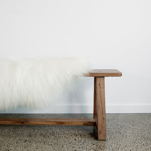 Arctic Sheepskin (Pure White)