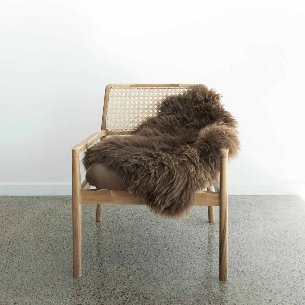 Natural New Zealand Sheepskin (Hot Chocolate)
