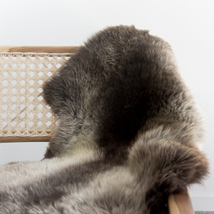 Natural New Zealand Sheepskin (Earl Grey)