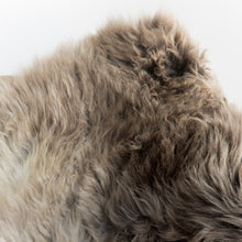 Load image into Gallery viewer, Natural New Zealand Sheepskin (Earl Grey)