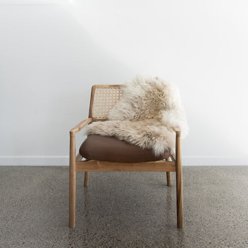 Natural New Zealand Sheepskin (White Chocolate)