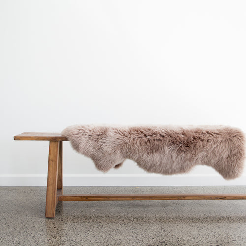 New Zealand Sheepskin (Dusty Blush)