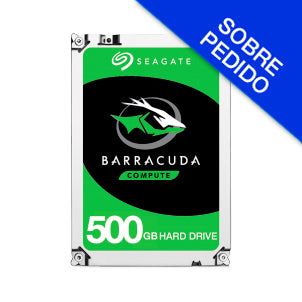 "DISCO DURO SEAGATE BARRACUDA 3.5"" SATA 500GB (ST500DM009)"