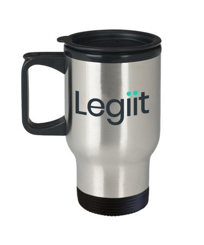 Legiit Travel Mug Black