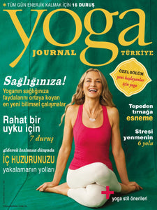 YOGA JOURNAL EYLÜL 2014