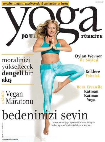 YOGA JOURNAL EYLÜL 2015