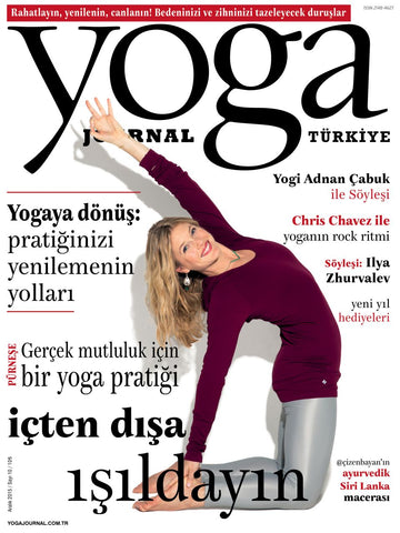 YOGA JOURNAL ARALIK 2015
