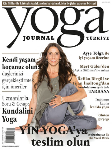 YOGA JOURNAL OCAK 2016