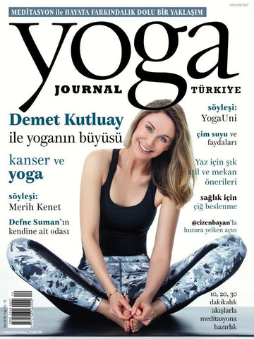 YOGA JOURNAL YAZ 2016