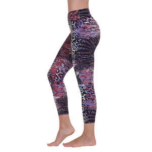Liquido Patterned Yoga Legging Tanzania