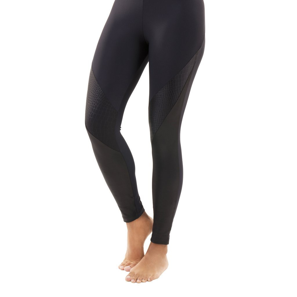 Liquido Active Battle Legging Snake Black Uzun Tayt