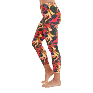 Liquido Active Patterned Yoga Legging Light in the Dark