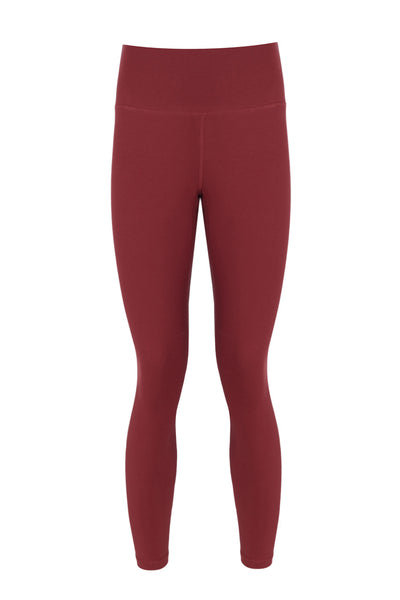 LANDO HIGH RISE LEGGING -(Kiremit)