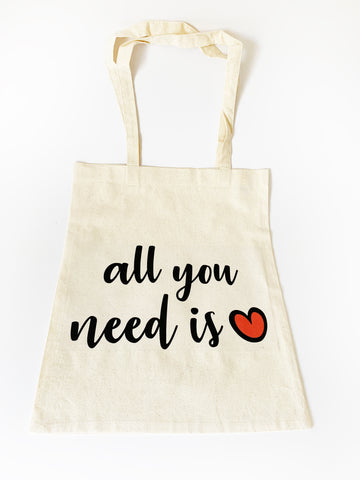 All you need is ❤️ Bez Çanta