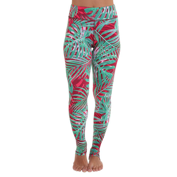 Liquido Om Legging Palm Dreams