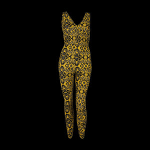 Liquido Unitard Yellow Spider - One Size