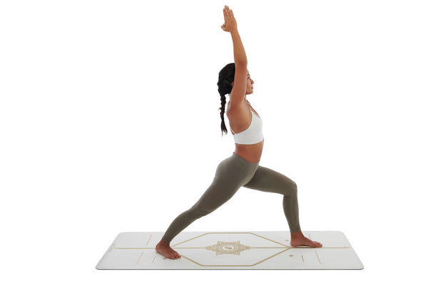 LIFORME WHITE MAGIC YOGA MAT - BEYAZ SİHİRLİ YOGA MATI